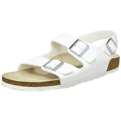 Amazon.com | Birkenstock Unisex Adults' Milano Sandals | Mules & Clogs