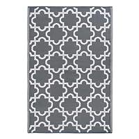 DII Moroccan Indoor/Outdoor Lightweight, Reversible, U0026 Fade Resistant Area  Rug, Use