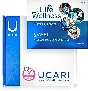 UCARI Pet Sensitivity & Intolerance Test Kit   Non-Invasive Cat & Dog Allergy Test   Environmental & Pet Food Intolerance Screening   Bioresonance Home Health Testing Kits, Fast Results
