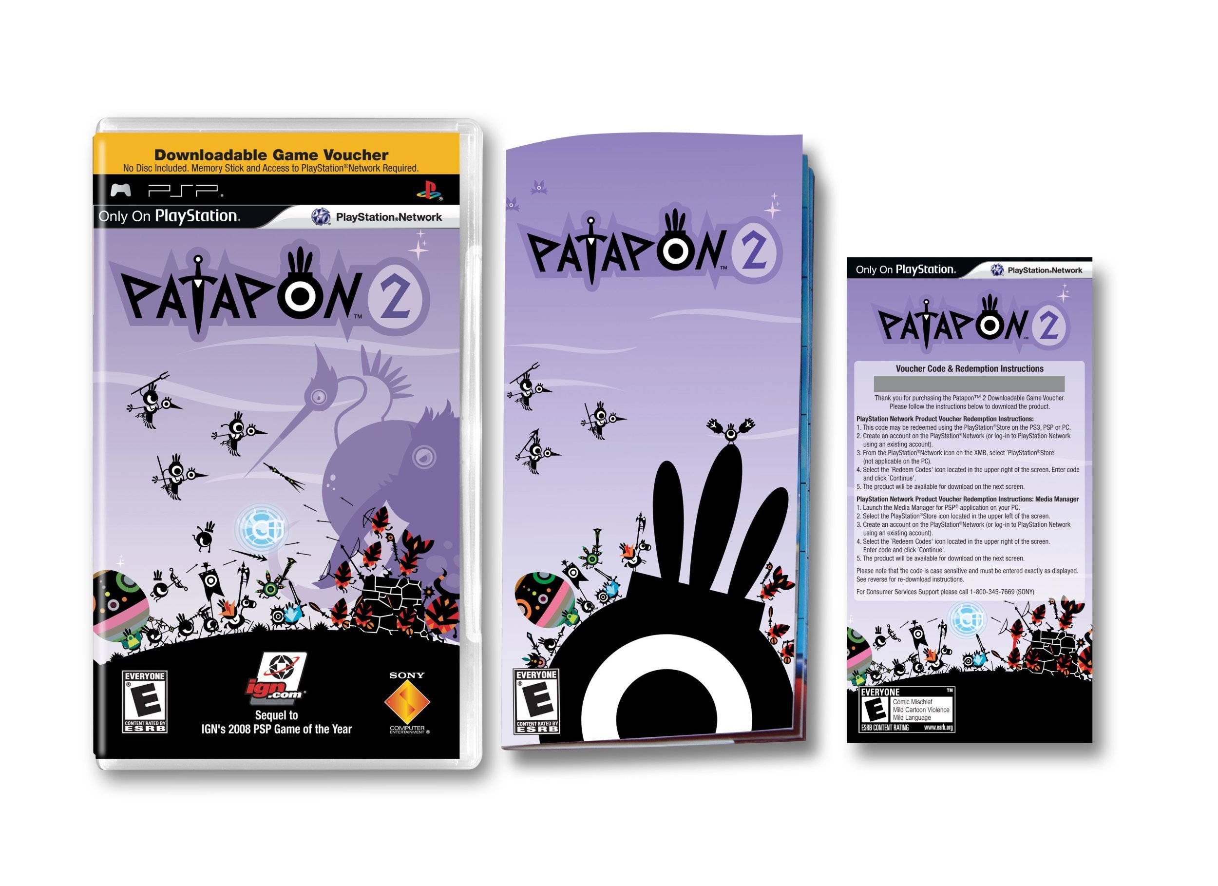 Patapon 2 (Downloadable Game Voucher) - Sony PSP by Sony (Image #4)