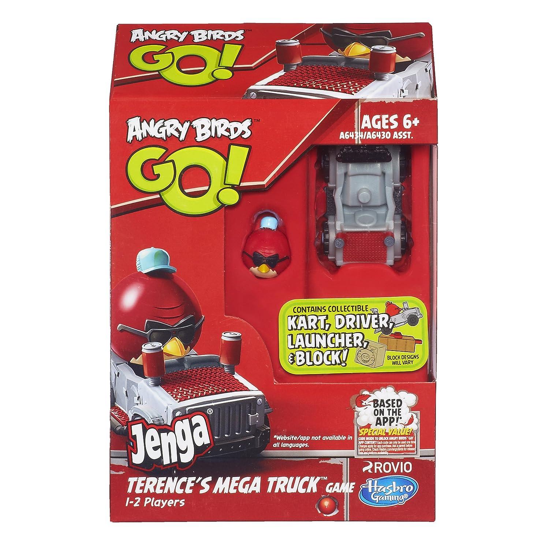 Angry Birds Go! Jenga Terence's Mega Truck Game: Amazon.co.uk ...