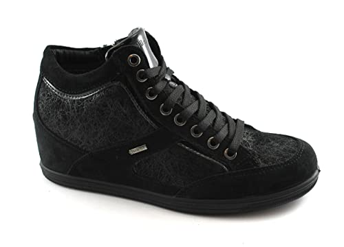 IGI & CO 87840 calzado deportivo zapatillas de deporte negras de cuña interior de Gore-