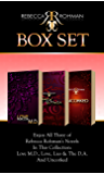 Rebecca Rohman Box Set: Love M.D., Love, Lies & The D.A. And Uncorked