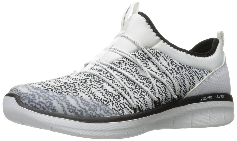 Skechers Sport Women's Synergy 2.0 Simply Chic Fashion Sneaker B01N3V6OB5 9 B(M) US|White/Black