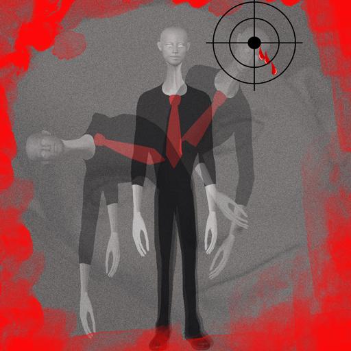Slender Killer (Black Ops 2 Zombies Halloween Costumes)