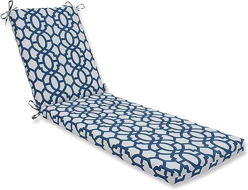 Pillow Perfect Outdoor/Indoor Nunu Geo Chaise Lounge Cushion