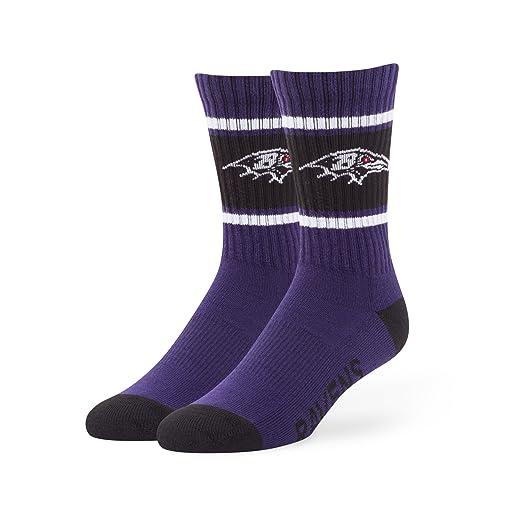 bd26fde1 NFL Men's '47 Duster Casual Dress Crew Socks, 1-Pack