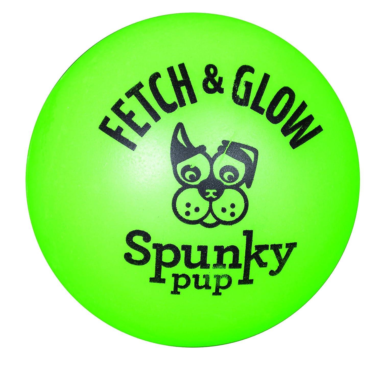 Beldorado 1962 Squeak & Glow Ballon pour chien phosphorescent