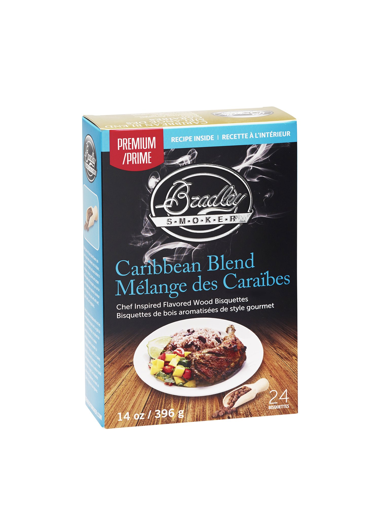 Bradley Smoker Caribbean Blend Bisquettes (24 Pack)