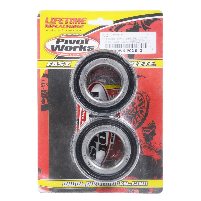 PIVOT WORKS ATV Front//Rear Wheel Bearing Kits Polaris