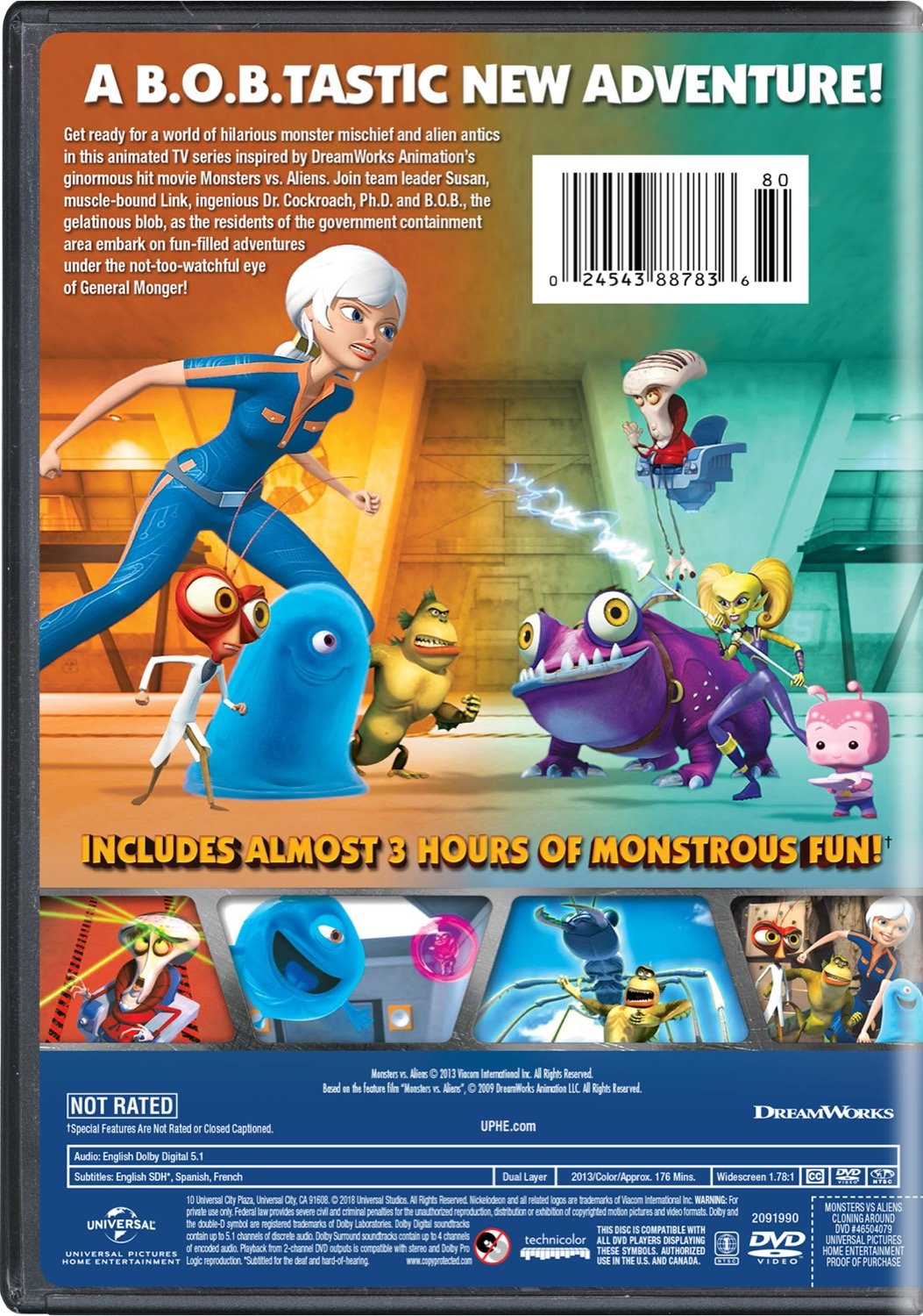 Monsters vs. Aliens: Cloning Around by Universal Studios Home Entertainment