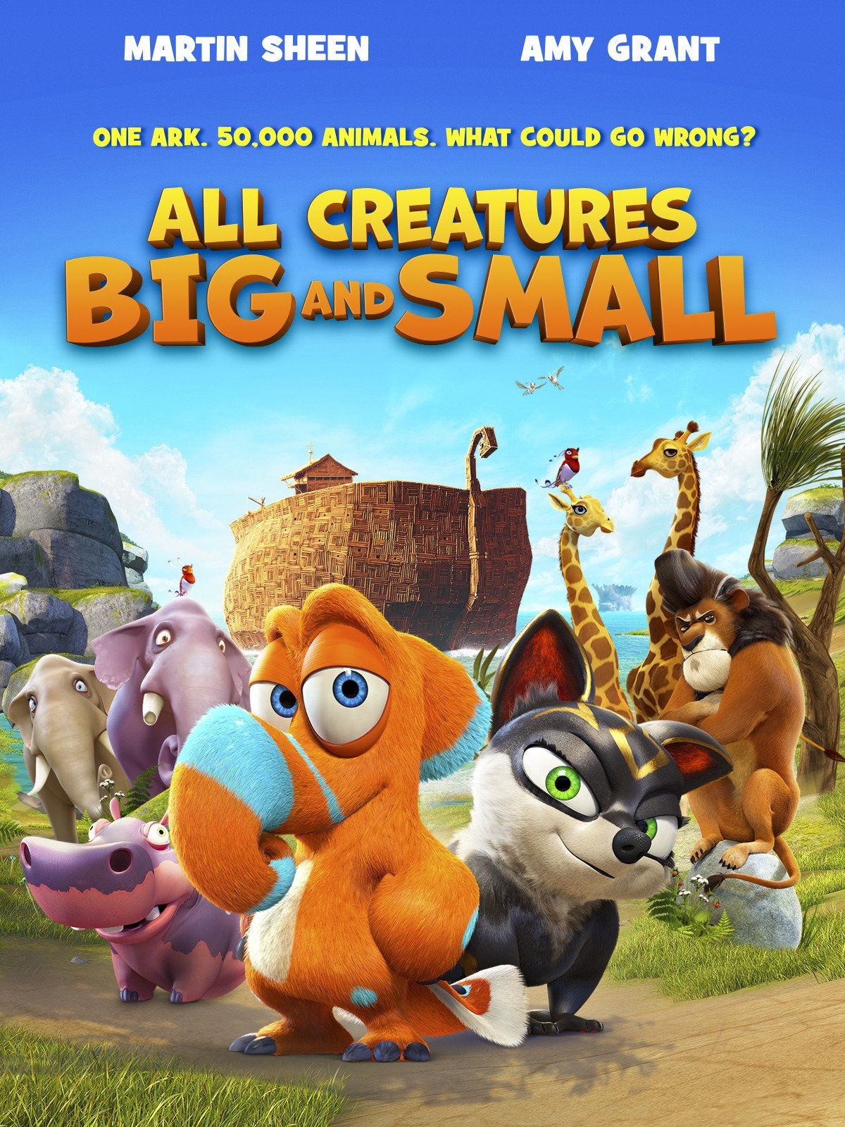 amazon com all creatures big and small martin sheen amy grant