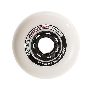Rollerblade Hydrogen 80mm 85A Wheels, 8 Pack Ruedas, Unisex Adulto, Blanco, Talla Única: Amazon.es: Deportes y aire libre
