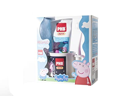 PHB Pack Petit Peppa Pig Gel 75 ml+Cepillo+Regalo