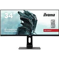 Iiyama GB3461WQSU-B1 34 cale, Monitor KomputerowyCzarny