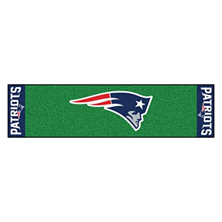 FANMATS NFL New England Patriots Nylon Face Putting Green Mat