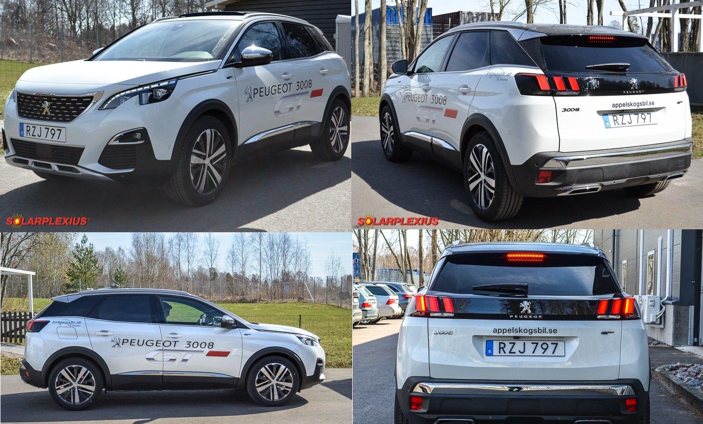 Amazon.es: Auto sol protección Peugeot 3008 SUV AB BJ. 2016 art. 54827 - 5