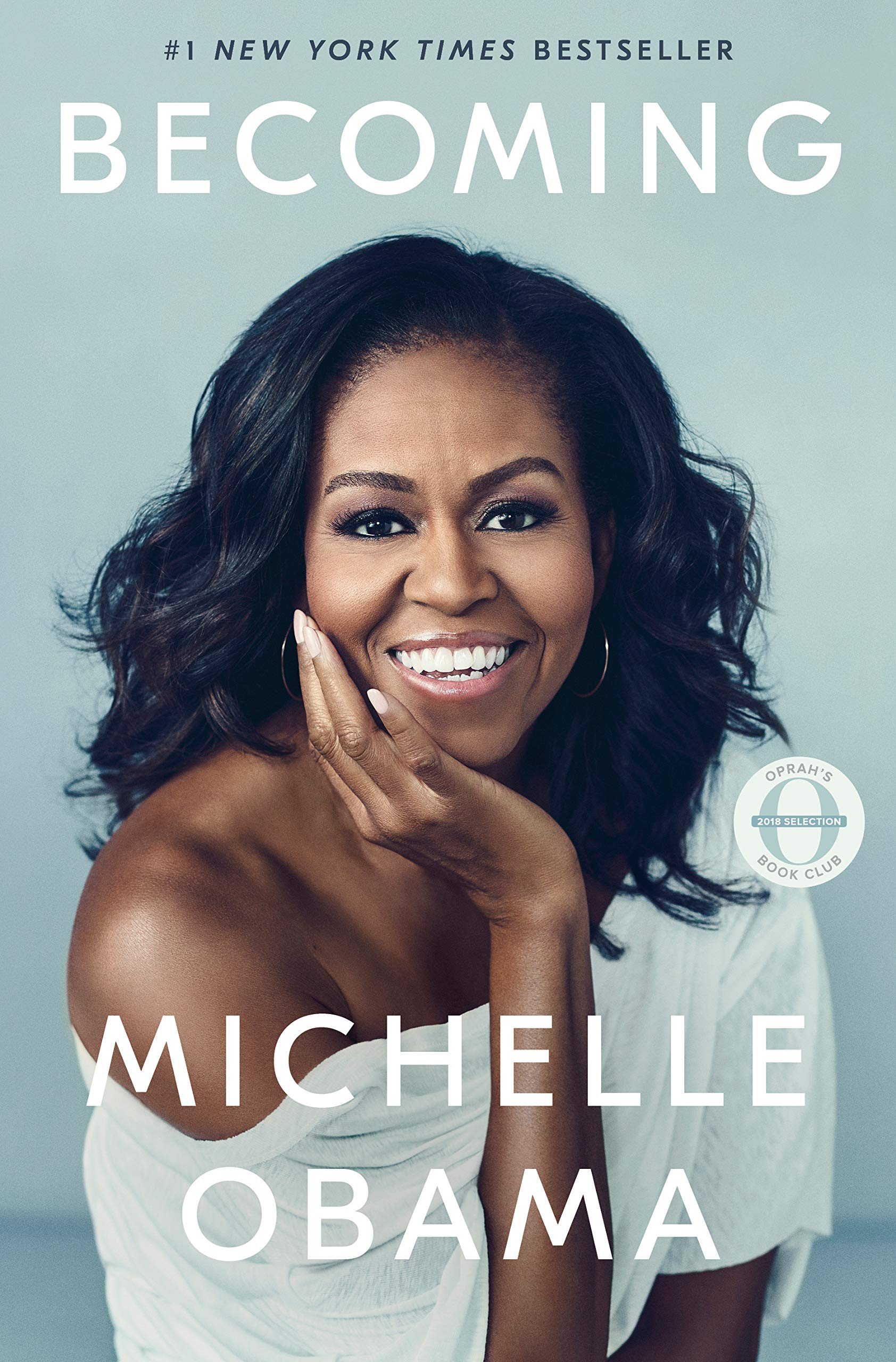 the front cover of michelle obama's bestselling book becoming