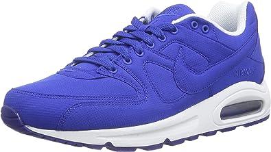 Nikeair MAX Command Textile - Zapatillas de Entrenamiento Hombre, Color Azul, Talla 47 EU: Amazon.es: Zapatos y complementos