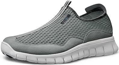 TSLA Men's Lightweight Sports Running Boost Shoes, Walking Sneakers Performance Shoes