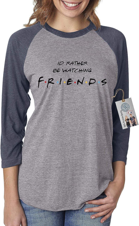 B07N7TWPNW Custom Apparel R Us Watching Friends Womens 3/4 Raglan Sleeve 81h2hdusVPL