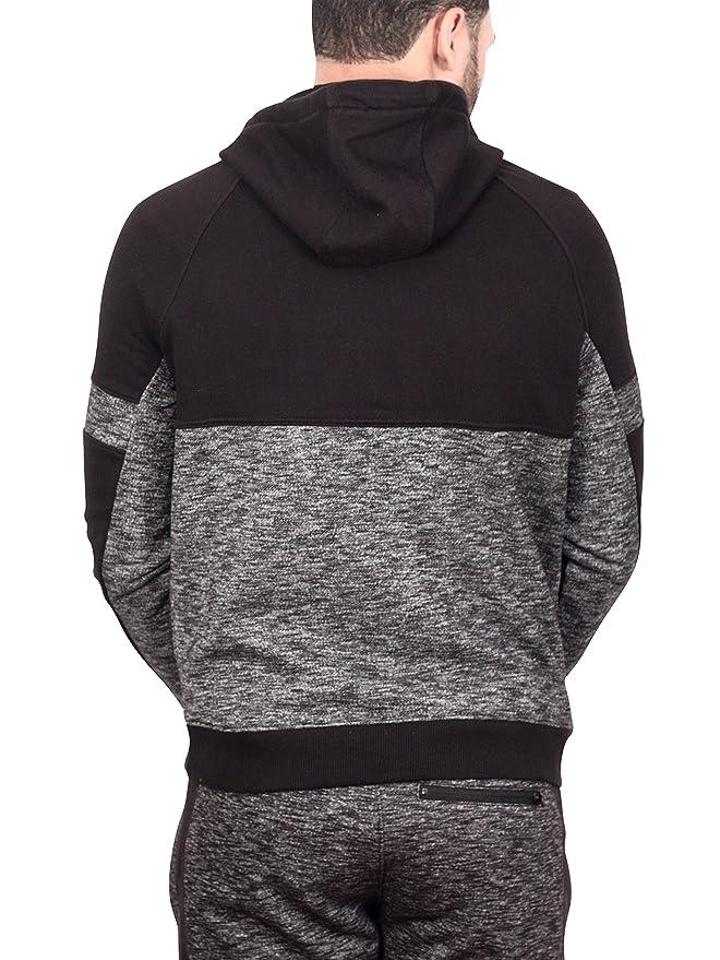 4cf5f75c6fc1f8 Jordan Craig Harrington Track Hoodie Black at Amazon Men s Clothing store