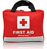 309 Piece Professional First Aid Kit for Medical Emergency - Includes Emergency Blanket, Scissors for Home, Car, Camping, Office, Boat, and Traveling - Night Reflective Bag