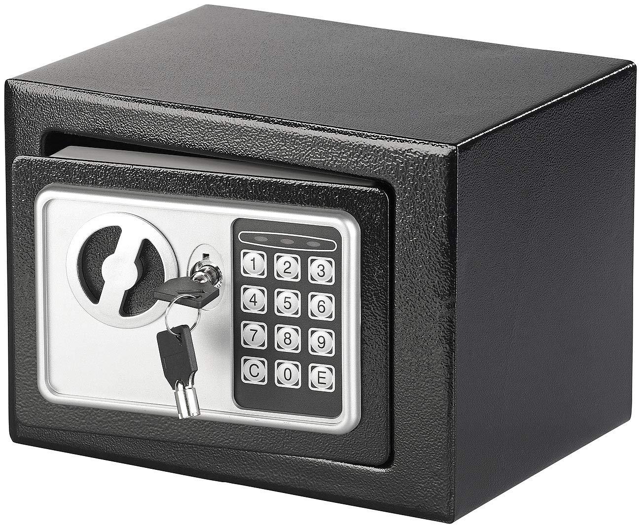 Xcase Steel Safe avec verrou à code numérique, 5 L, 1 pièce, NC-3369-27. 1 pièce