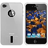 mumbi TPU Silikon Schutzhülle für iPhone 4S 4
