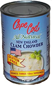 New England Clam Chowder Gluten Free (Condensed 15oz 12 Pack)