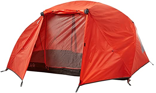 Poler Menu0027s 2 Man Tent - Orange burnt orange One Size  sc 1 st  Amazon.com : 2 man tent size - memphite.com