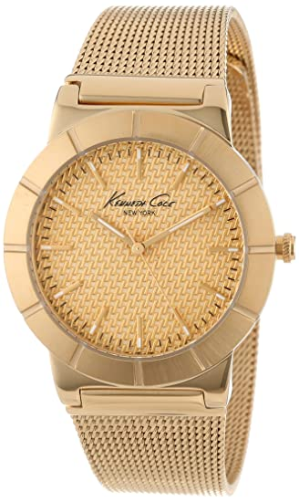 Kenneth Cole Reloj con Correa de Malla IKC4909: Kenneth Cole: Amazon.es: Relojes