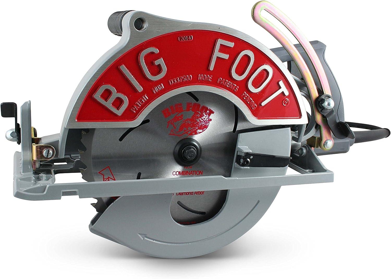 Big Foot Tools SC-1025SU BF-UG Worm Drive Magnesium Circular Saw
