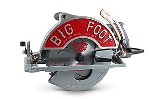 Big Foot Tools BF-UG 10-1/4-Inch Wormdrive Magnesium Circular Saw w/ Skil Motor