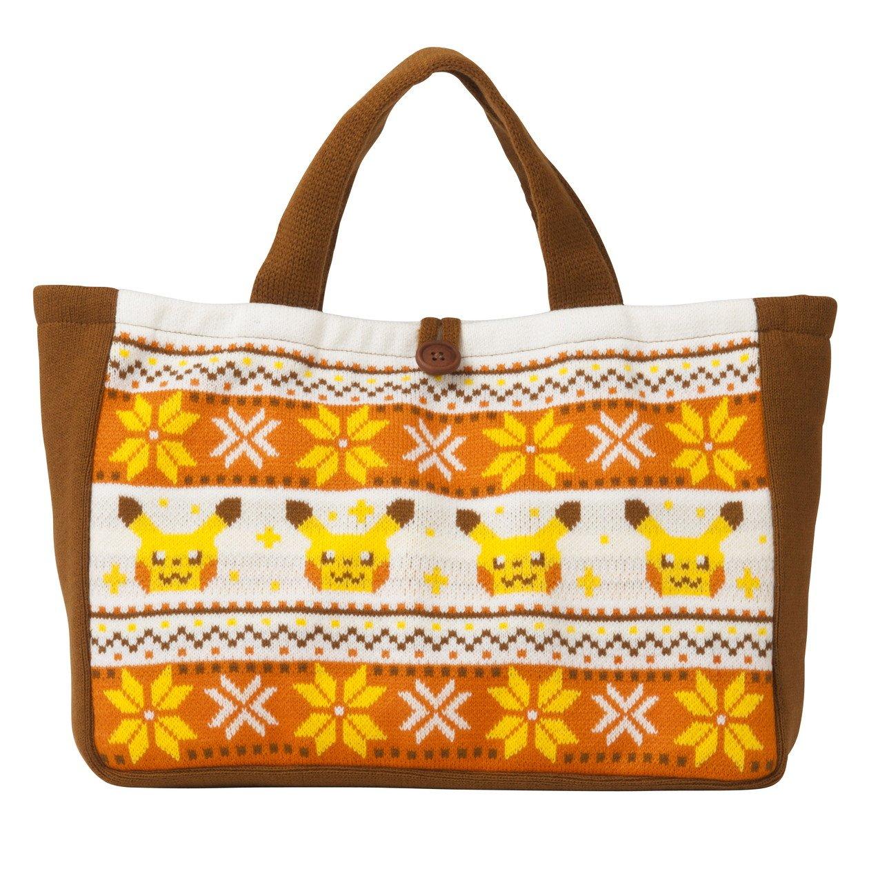 Pokemon Center Original Tote Bag Pikachu knit