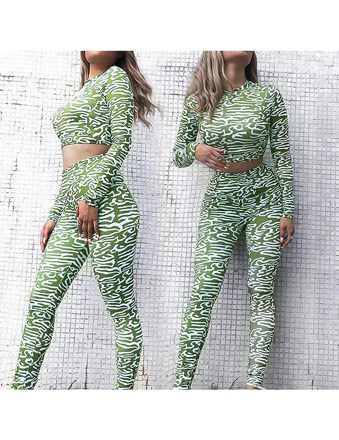 BLXMX Pantalones De Yoga 2 Piezas Conjunto De Yoga Pantalones ...