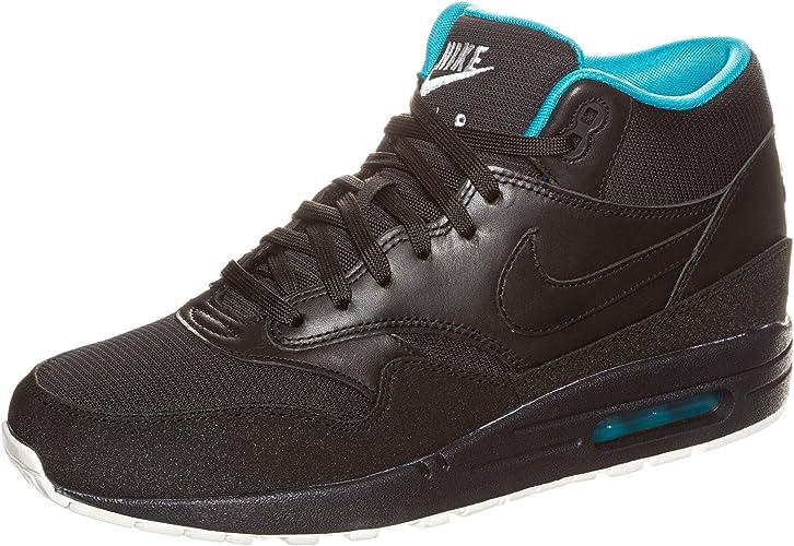 Nike Sportswear AIR MAX 1 MID Baskets montantes noir