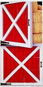 Beistle 54663 Barn Door Cover, 30-Inch by 5-Feet, Multicolor