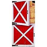 Beistle Barn Door Cover, 30-Inch by 5-Feet, Multicolor
