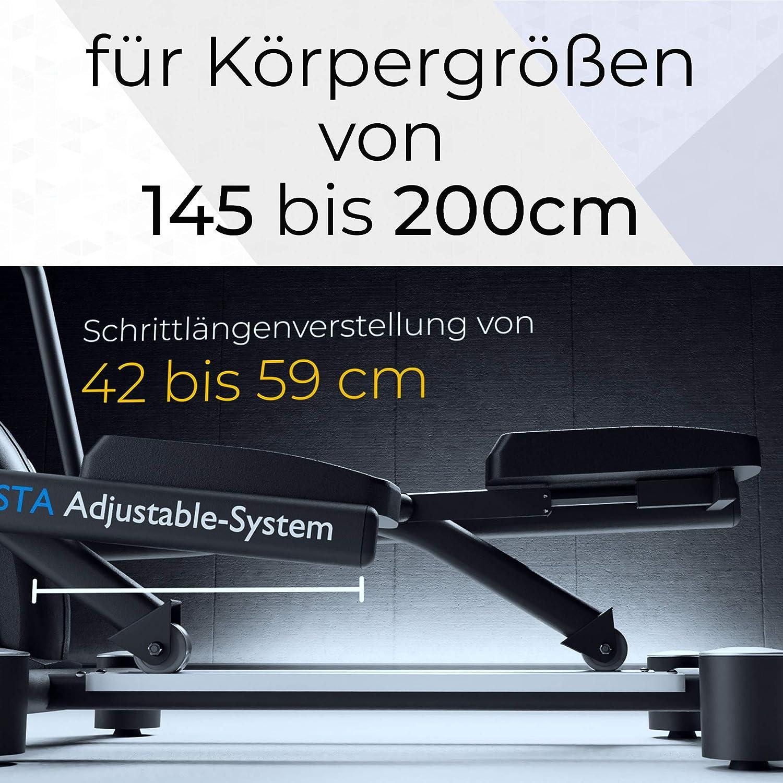 MAXXUS CX 7.5 Crosstrainer Schrittlänge und Körpergröße