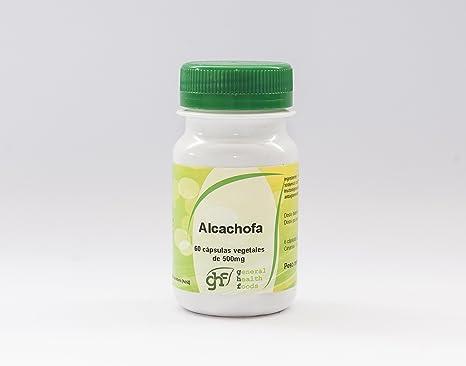GHF - GHF Alcachofa 60 cápsulas vegetales 500mg: Amazon.es: Salud y cuidado personal