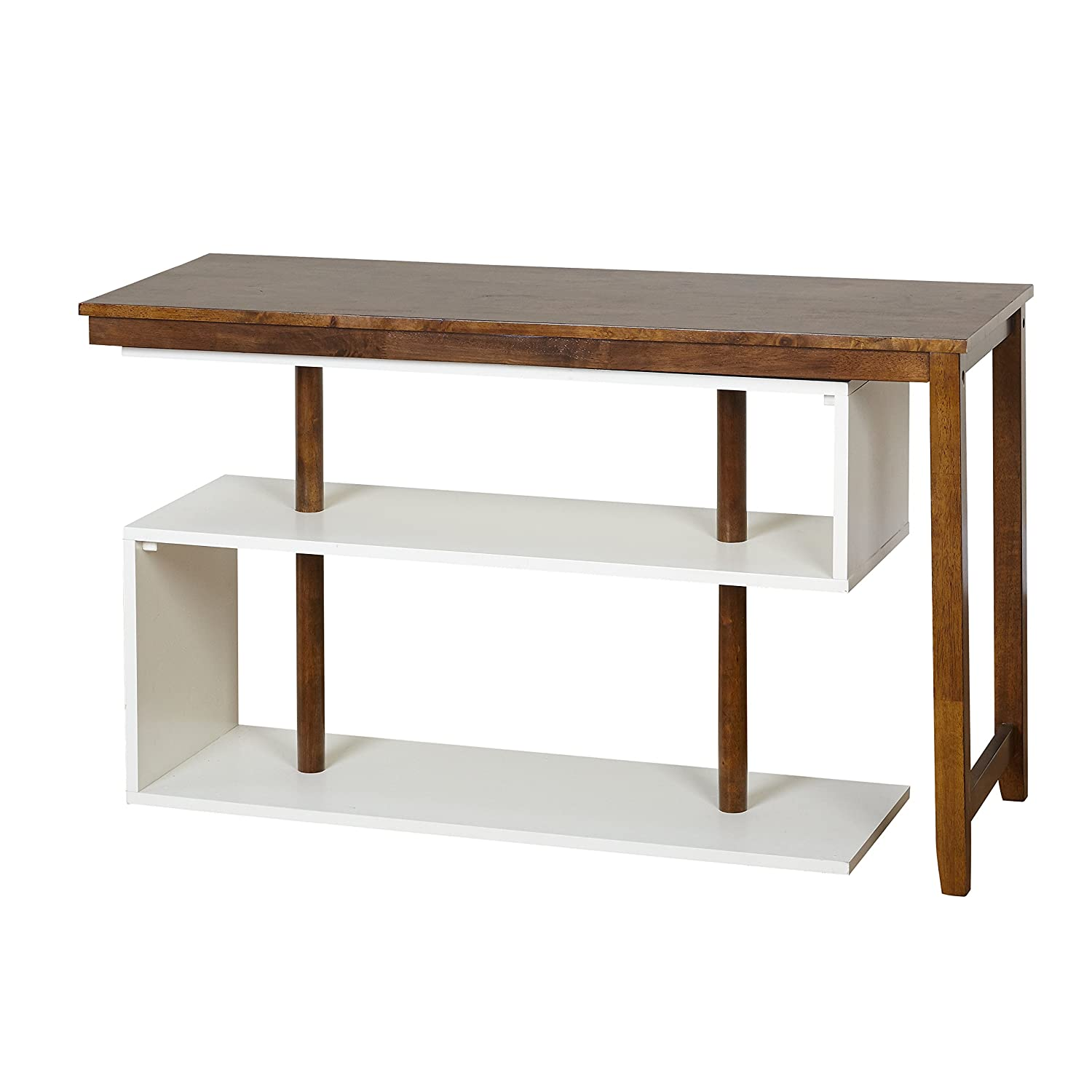 White walnut office furniture Single Amazoncom Target Marketing Systems 35007wal Webester Collection Swing Desk Whitewalnut Kitchen Dining Amazoncom Amazoncom Target Marketing Systems 35007wal Webester Collection