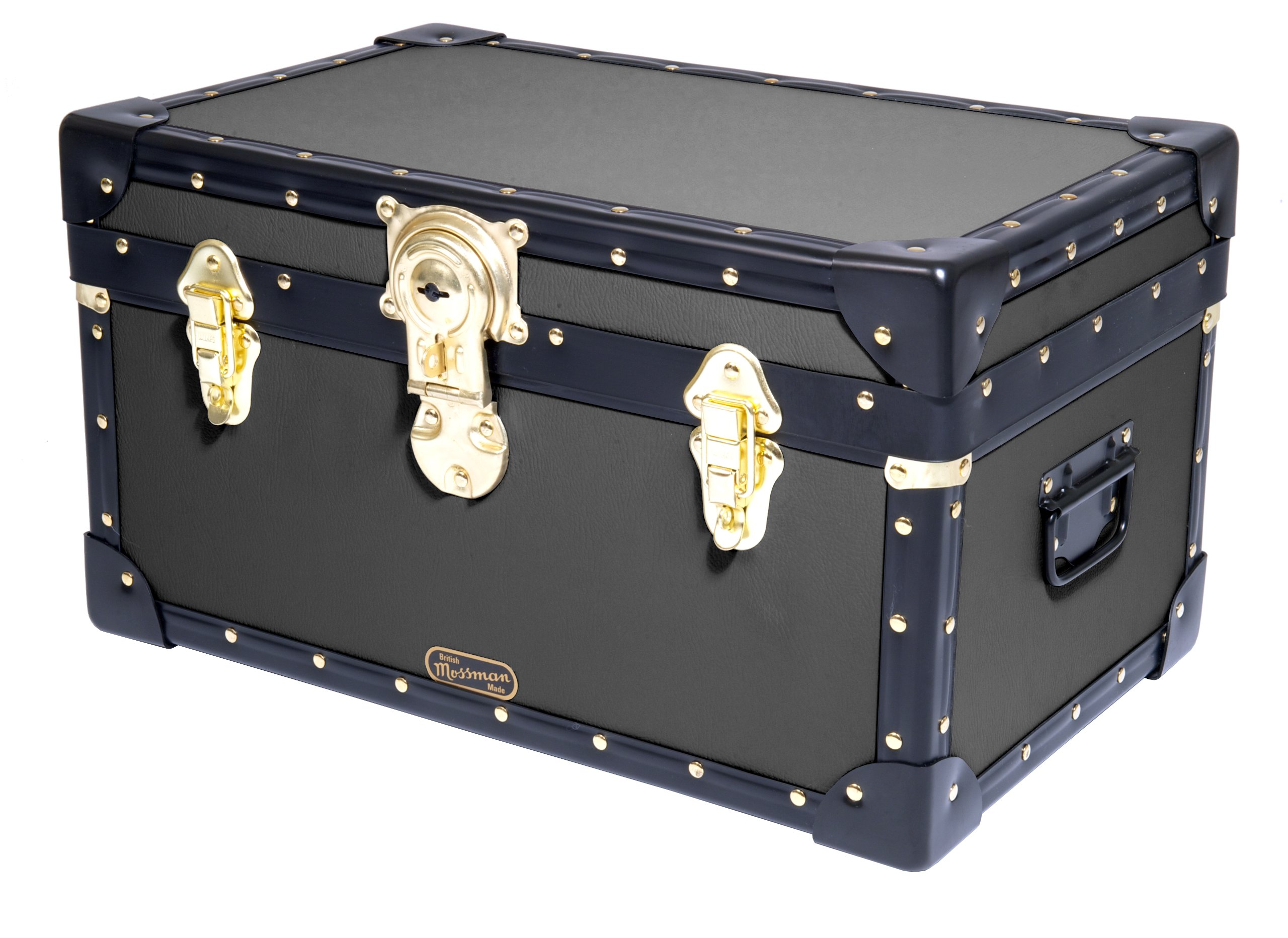 Genial Original Mossman TUCK BOX Trunk CABIN Lock Storage Box Chest Steamer Case  Home Furniture British Made