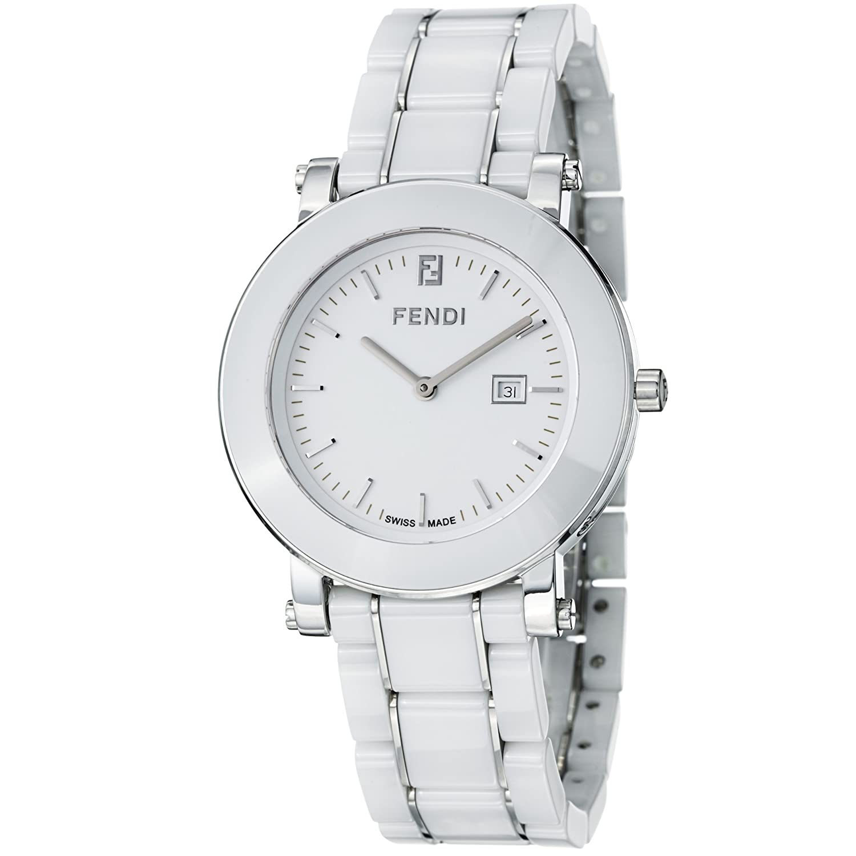 Fendi Women s F642140 Ceramic Analog Display Quartz White Watch