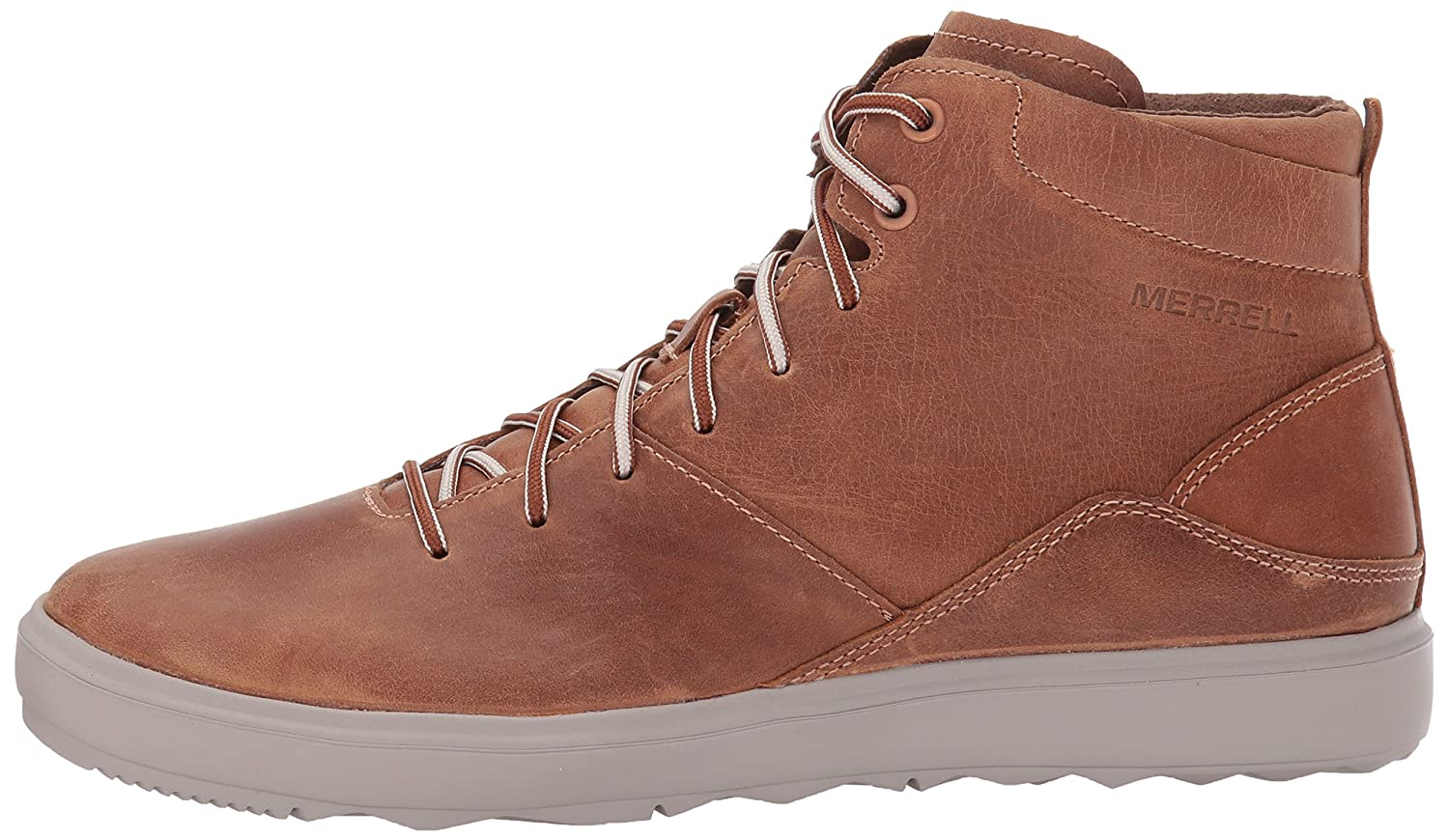 Merrell Women's Around Town Mid Lace Fashion Sneaker B01MQWQ7VV 7 B(M) US|Brown Sugar