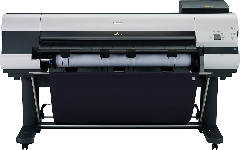 Canon imagePROGRAF iPF830 - Impresora de Gran Formato (2400 x 1200 dpi, Inyección de Tinta, Garo,HP-GL/2,HP-RTL, Negro, Cian, Magenta, Negro Mate, Amarillo, PF-04, 121 sqf/h): Amazon.es: Informática