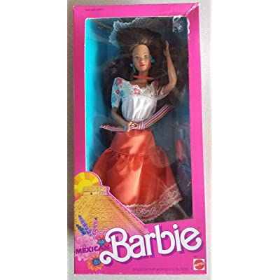 Barbie Mexican Dolls of the World 1988 New: Toys & Games