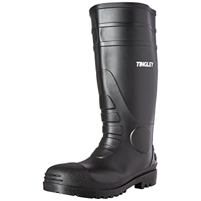 Tingley 31151 Economy SZ12 Kneed Boot for Agriculture, 15-Inch, Black: Industrial & Scientific