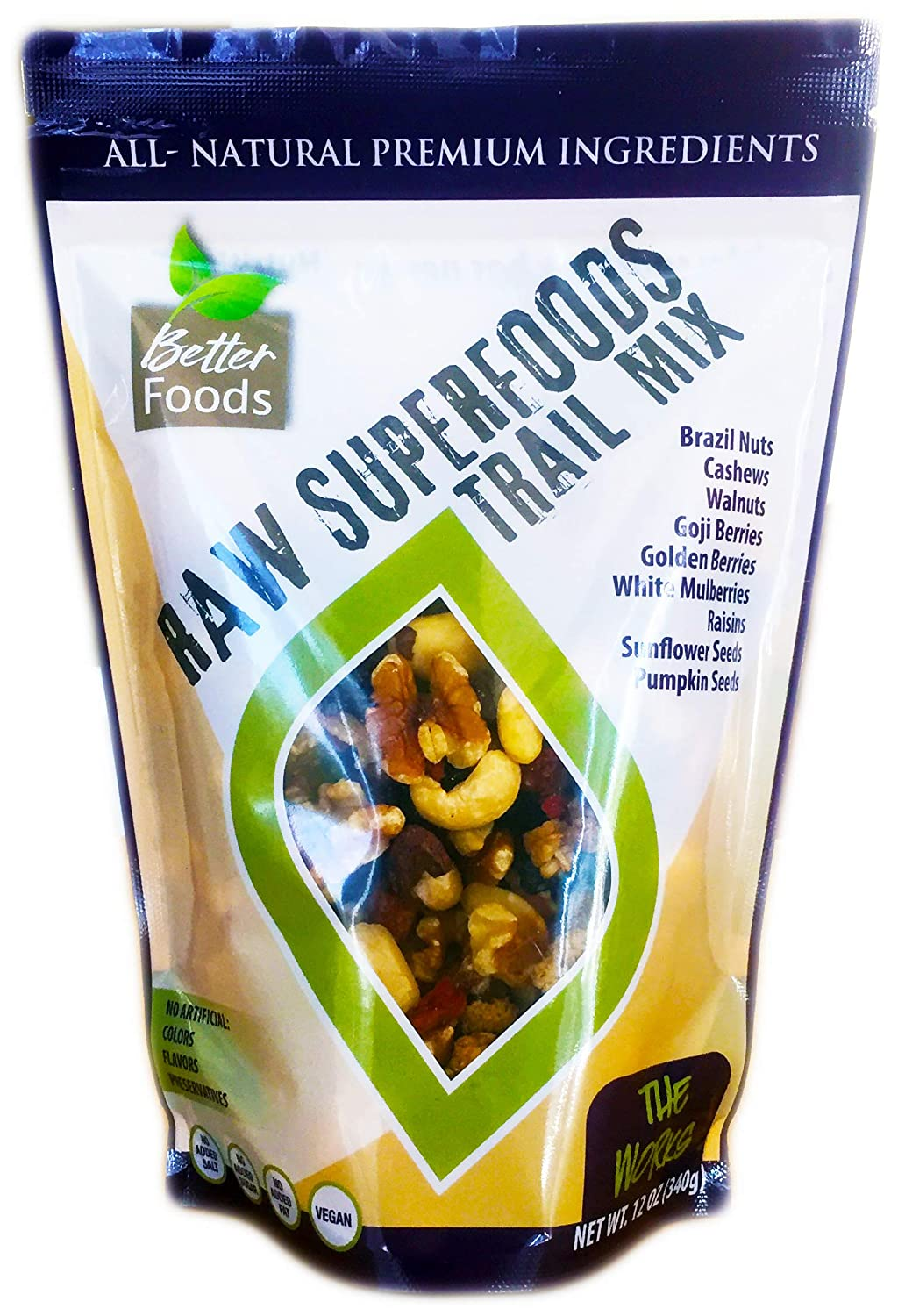 Raw Superfoods Trail Mix: Amazon.com: Grocery & Gourmet Food
