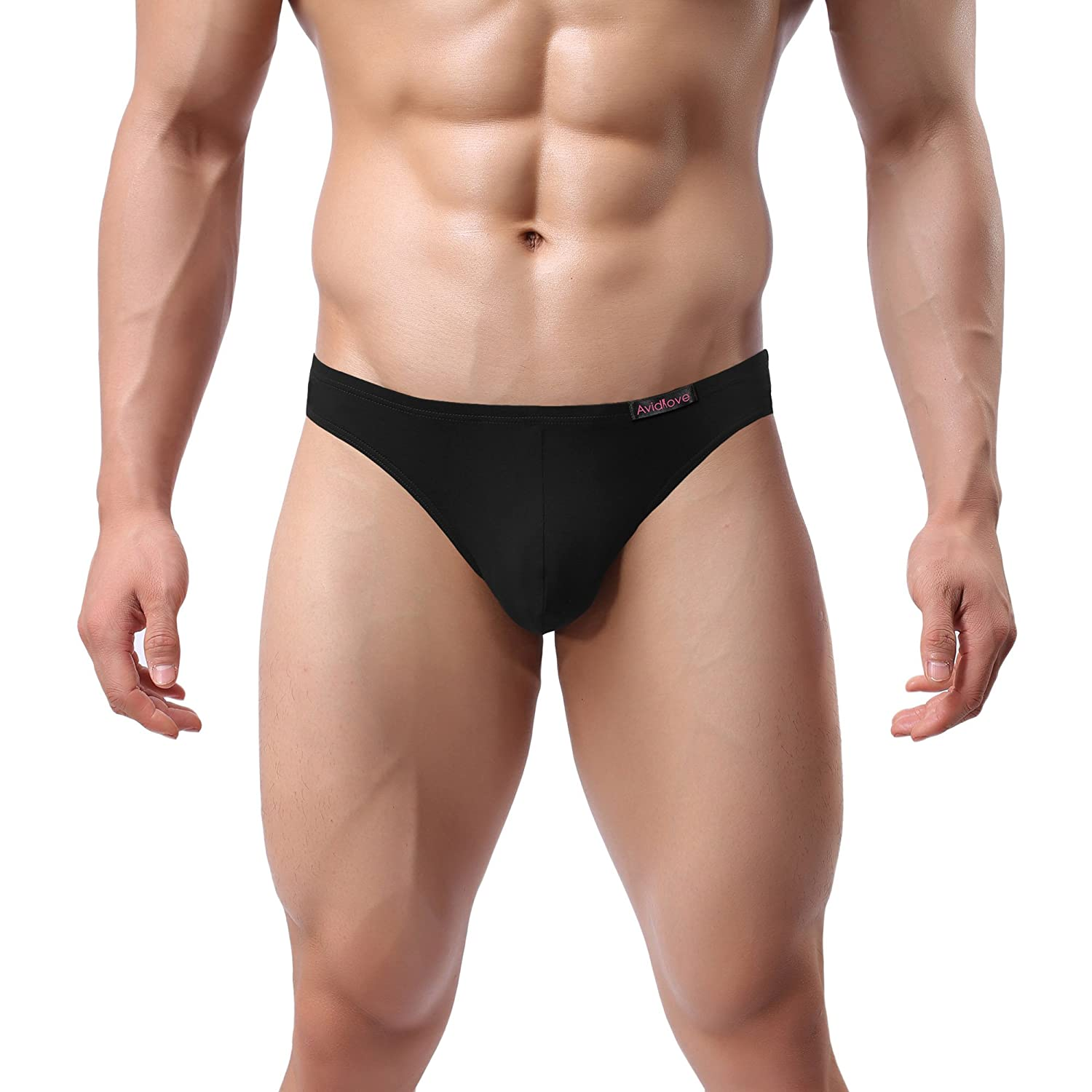 Avidlove Men Underwear Micromodal Bikinis 4 Pack Briefs at Amazon ...